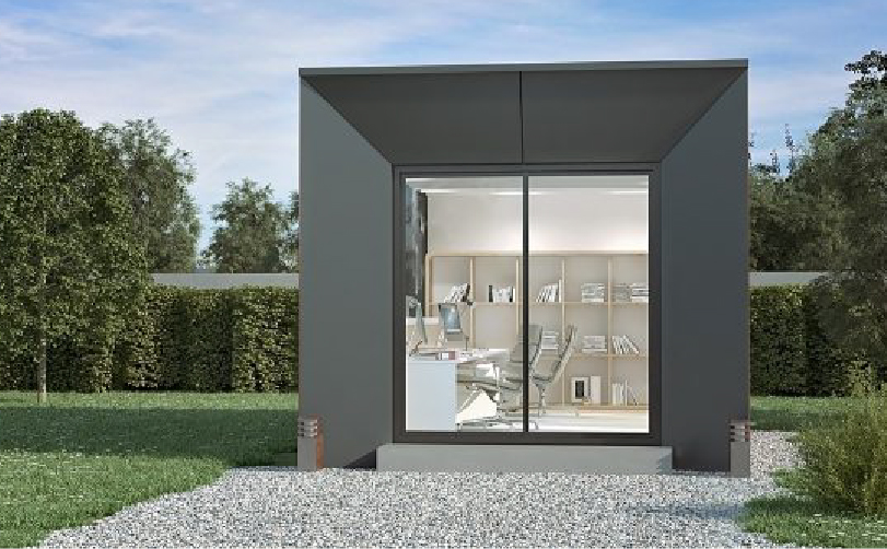 extraspace maison modulaire moderne